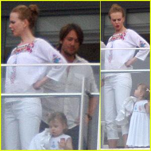 Nicole Kidman: Holidays Down Under