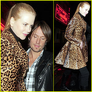 Nicole Kidman Loves Leopard Print