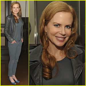 Nicole Kidman Celebrates 'Nine' at NYC's Per Se