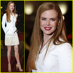 Nicole Kidman World Premieres Nine in London