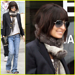 Nicole Richie: Brunette Beautiful!