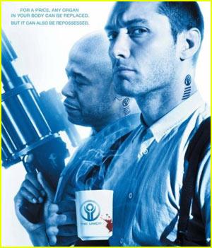 Jude Law & Liev Schreiber: 'Repo Men' Trailer!