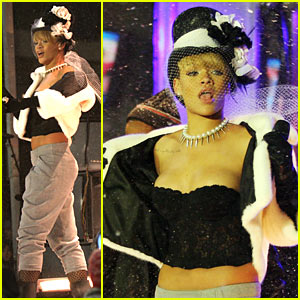 Rihanna: New Year's Eve with Carson Daly!