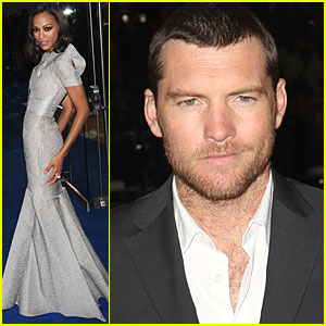 Sam Worthington Premieres 'Avatar' in London