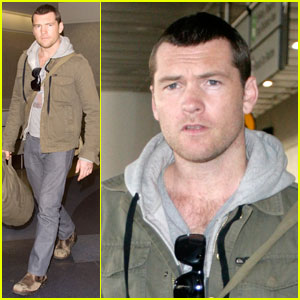 Sam Worthington Wore a Lace G-String
