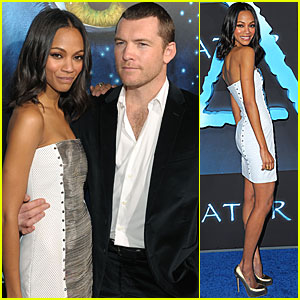 Zoe Saldana: I Was Nine Feet Tall and Blue!