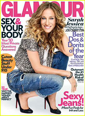 Sarah Jessica Parker Covers 'Glamour' January 2010