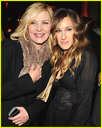 Kim Cattrall Comes Out to Support Sarah Jessica Parker
