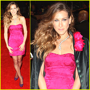 Sarah Jessica Parker is Leicester Square Stunning
