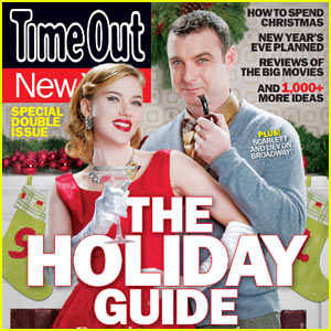 Scarlett Johansson & Liev Schreiber Cover 'Time Out New York'
