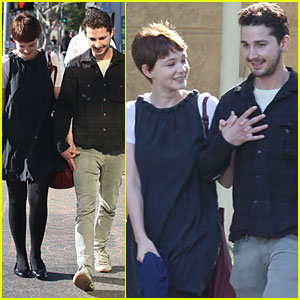 Shia LaBeouf & Carey Mulligan are a Crafty Couple