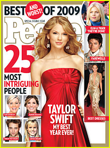 Taylor Swift Covers Year-End Issue of 'People'