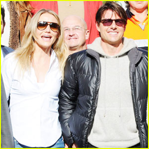Tom Cruise & Cameron Diaz Wrap 'Knight and Day'