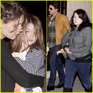 Tom Cruise & Katie Holmes: Tapas Bar Family!