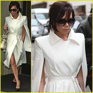 Victoria Beckham is White Hot