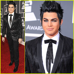 Adam Lambert - Grammys 2010 Red Carpet