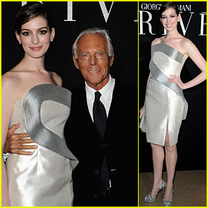 Anne Hathaway: I'd Love to Wear Armani's New Collection!