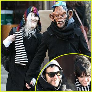 Ashlee Simpson & Pete Wentz: Masked Mates
