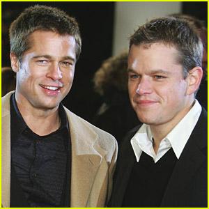 Brad Pitt & Matt Damon Join 'Happy Feet 2'