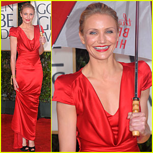 Cameron Diaz - Golden Globes 2010 Red Carpet
