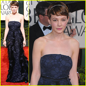 Carey Mulligan - Golden Globes 2010 Red Carpet