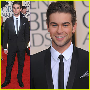 Chace Crawford - Golden Globes 2010 Red Carpet
