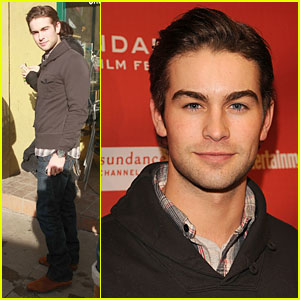Chace Crawford Interview -- JustJared.com Sundance Exclusive