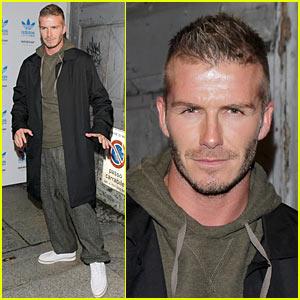 David Beckham is a Milan Man