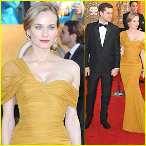Diane Kruger - SAG Awards 2010 Red Carpet