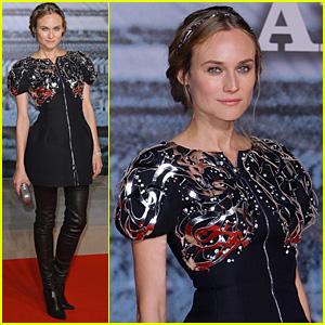 Diane Kruger Does Karl Lagerfeld Proud