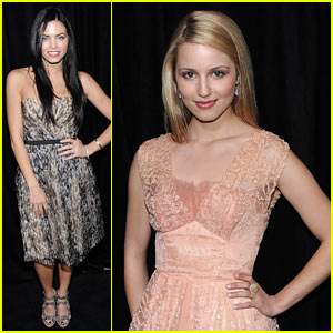 Dianna Agron & Jenna Dewan: Diamonds are a Girl's Best Friend