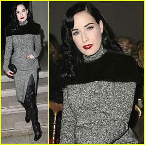 Dita Von Teese is Gaultier Gorgeous