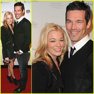 LeAnn Rimes & Eddie Cibrian are Lovin' The Longhorns