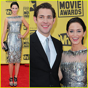 Emily Blunt & John Krasinski: Critics Choice Awards 2010!