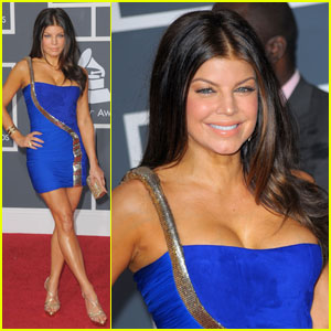 Fergie - Grammys 2010 Red Carpet