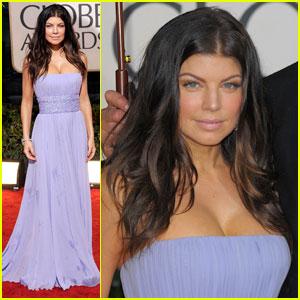 Fergie - Golden Globes 2010 Red Carpet