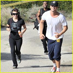 Fergie & Josh Duhamel: Canyon Running Couple