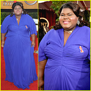 Gabourey Sidibe - SAG Awards 2010 Red Carpet