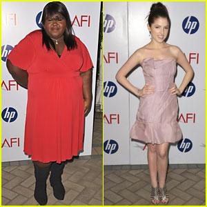 Anna Kendrick & Gabourey Sidibe: AFI Adorable