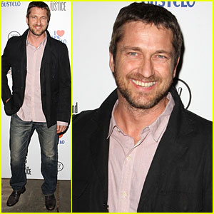 Gerard Butler is an Artist for Peace and Justice