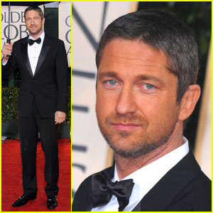 Gerard Butler - Golden Globes 2010 Red Carpet
