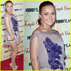 Hayden Panettiere Checks Out 'Temple Grandin'