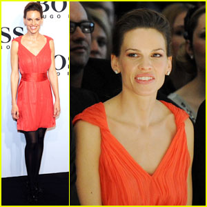 Hilary Swank is Boss Beautiful