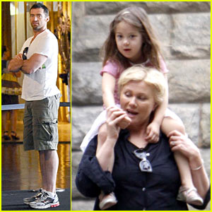 Hugh Jackman: Family Fun in Brazil!