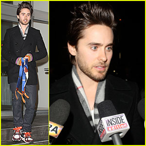 Jared Leto Takes Home Larry King's Suspenders