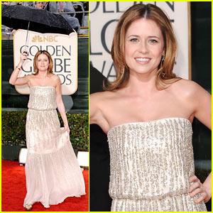 Jenna Fischer - Golden Globes 2010 Red Carpet