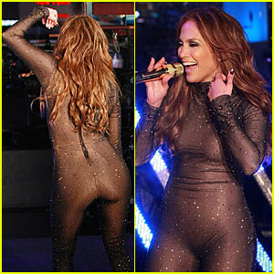 Jennifer Lopez: Skintight Sexy on New Year's Eve