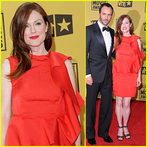 Julianne Moore Hits Critics Choice Awards 2010