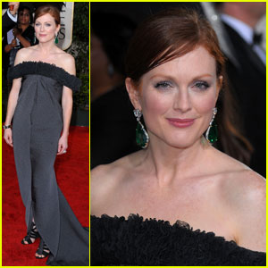 Julianne Moore - Golden Globes 2010 Red Carpet