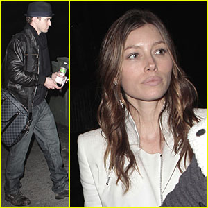 Justin Timberlake & Jessica Biel: Timbaland Twosome